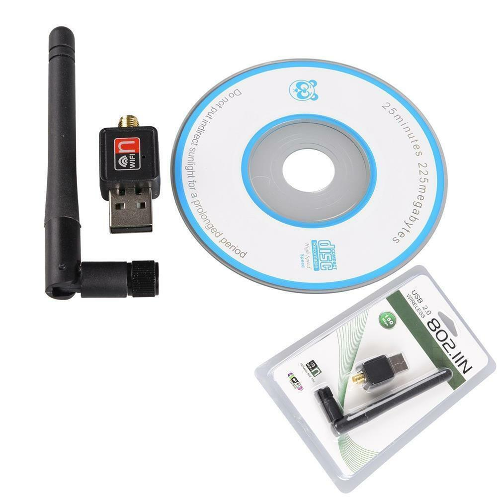 hot usb 2 0 wifi wireless adapter network lan card receiver ebay. Black Bedroom Furniture Sets. Home Design Ideas