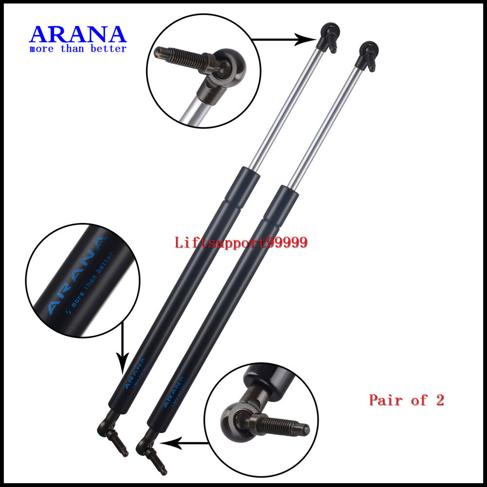2pcs gas charged liftgate lift supports struts for jeep