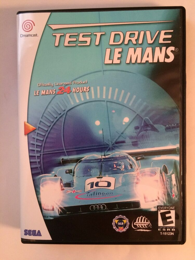 test drive le mans sega dreamcast replacement case no game ebay. Black Bedroom Furniture Sets. Home Design Ideas