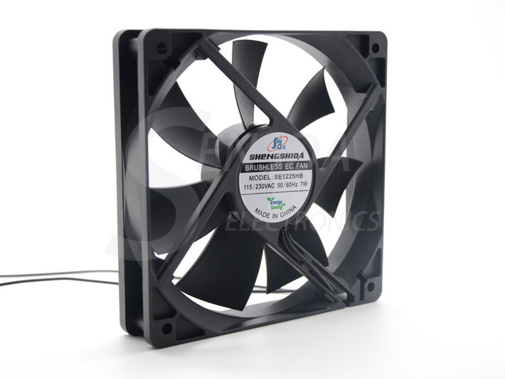 Ec Motor Fan : Brushless ec axial fan motor mm cm ac
