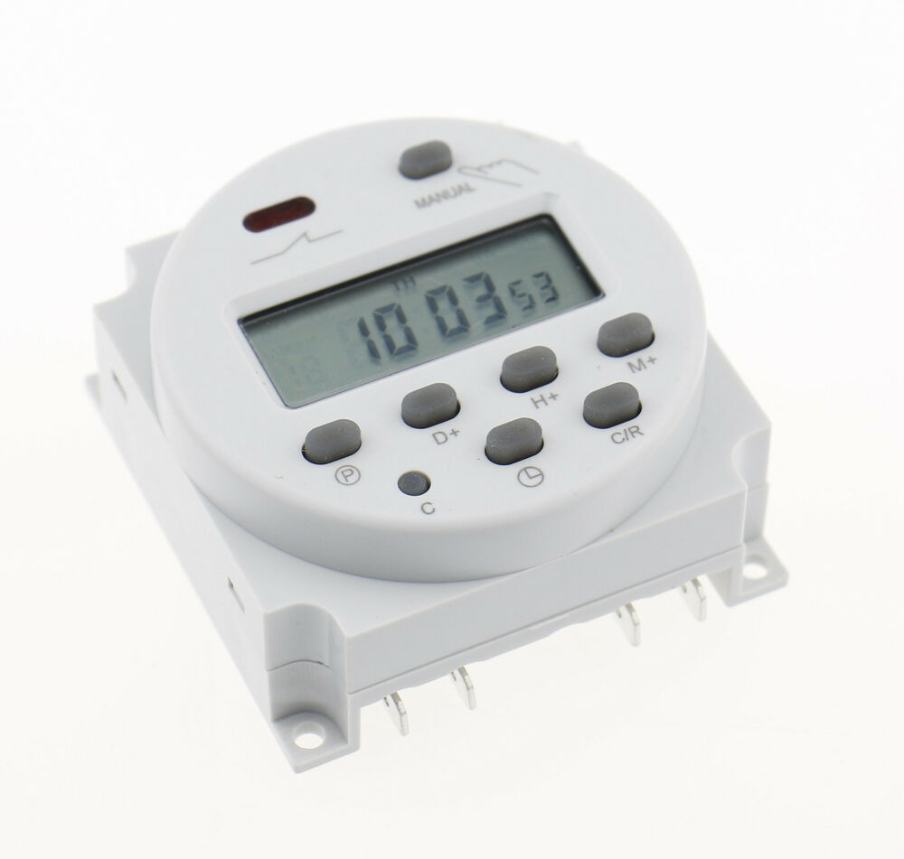 Digital Power Timer : Cn a ac v digital lcd power programmable timer time