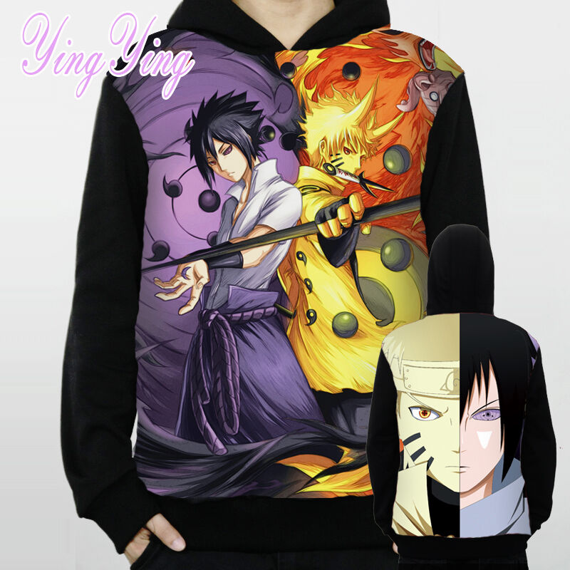 Uchiha Sweater: Japanese Anime Naruto Uzumaki Sasuke Uchiha Winter