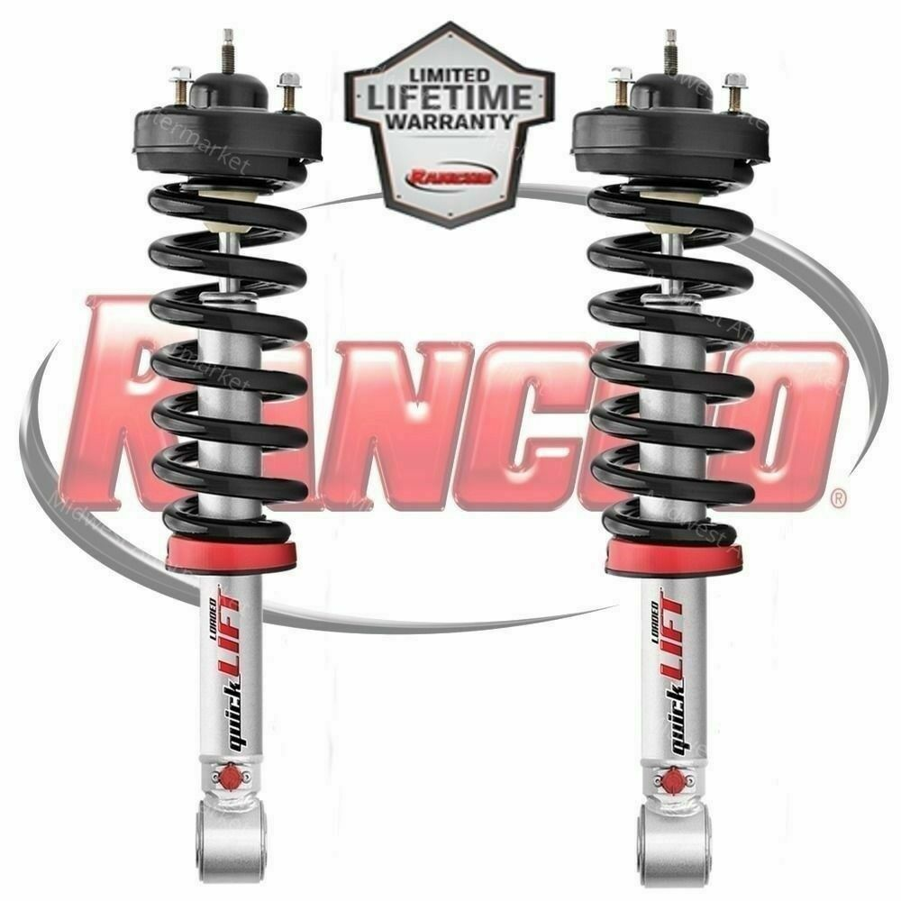 Rancho Loaded Quicklift Complete Strut Assembly Fits 2004