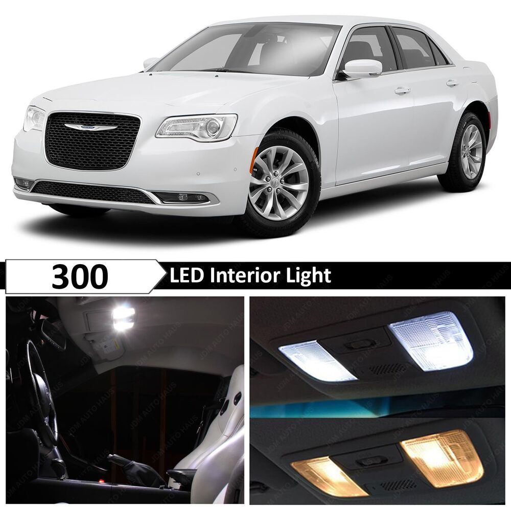 19x White Interior LED Lights Package Kit For 2015-2017