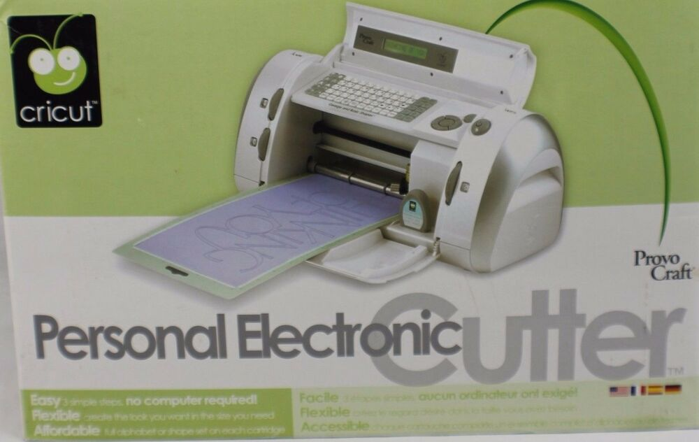 Cricut personal electric cutter arts and crafts creative for Craft die cut machines