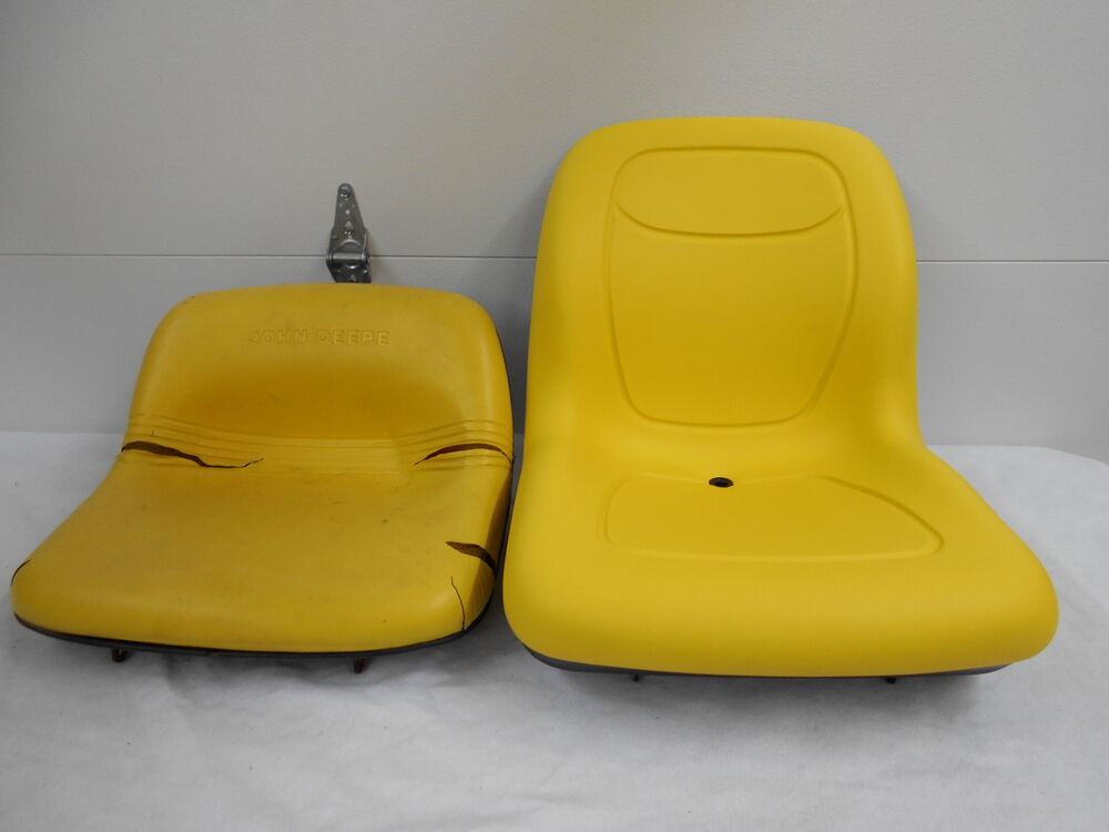 John Deere Riding Mower Seats : High back yellow seat john deere gt lx