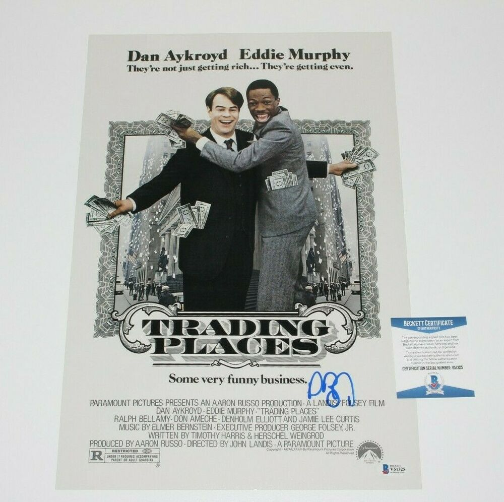 Authentic signed movie posters