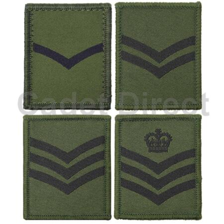 img-Other Ranks UBACS / Osprey Rank Badges, Olive Green
