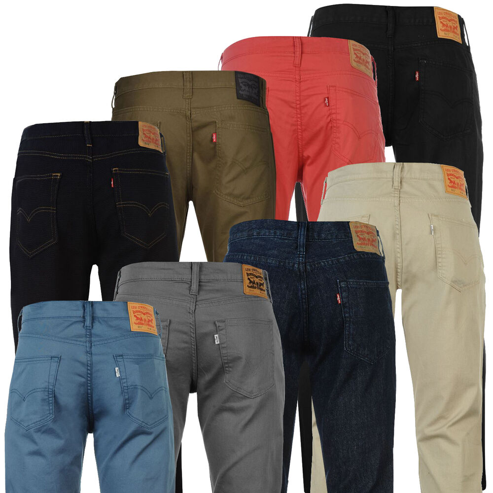levi 39 s 511 slim fit jeans denim herren hose levis skinny w30 w32 w34 w36 w38 w40 ebay. Black Bedroom Furniture Sets. Home Design Ideas