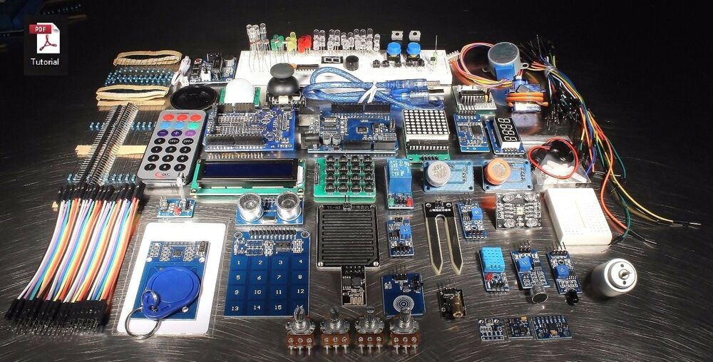 Ultimate uno r master project kit for arduino with