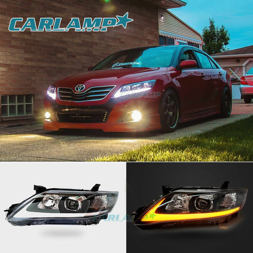Led Drl Headlights For Toyota Camry 2010 2011 H L Beam