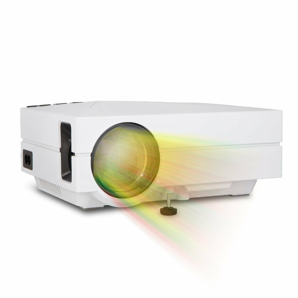 Hd 1080p Mini Lcd Image System Multimedia Led Projector: Mini LED LCD Projector Home Cinema Theater Portable 1080P