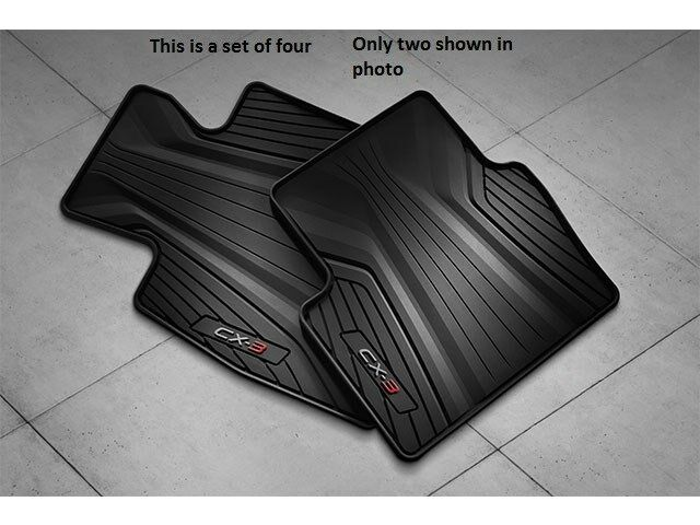 2016 2017 2018 Mazda Cx 3 All Weather Floor Mats Set Of 4