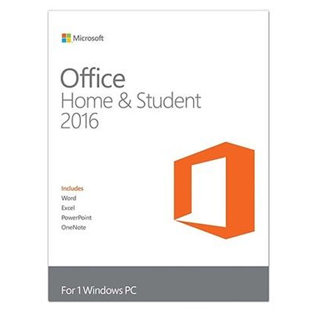 Microsoft office home and student 2016 windows english pc for Best home office video cards