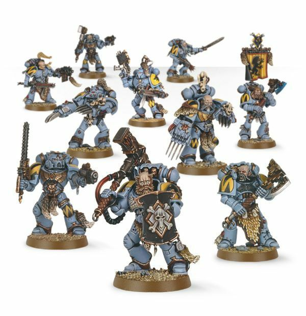 Warhammer 40000 - 53-06 Space Wolves Pack 10x Mini Figures Kit - Tracked 48 Post 5011921064823 ...