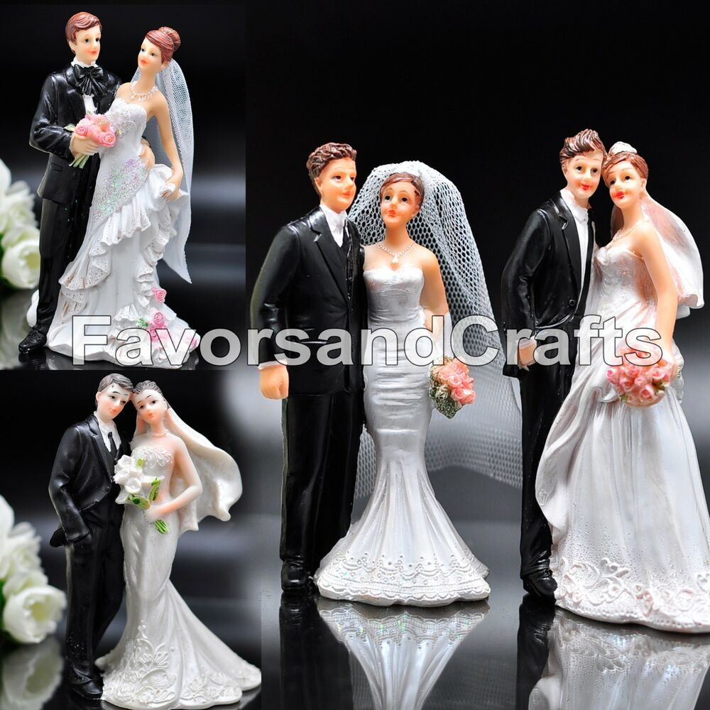 Wedding Cake Topper Love Favors Figurine Decorations Bride ...
