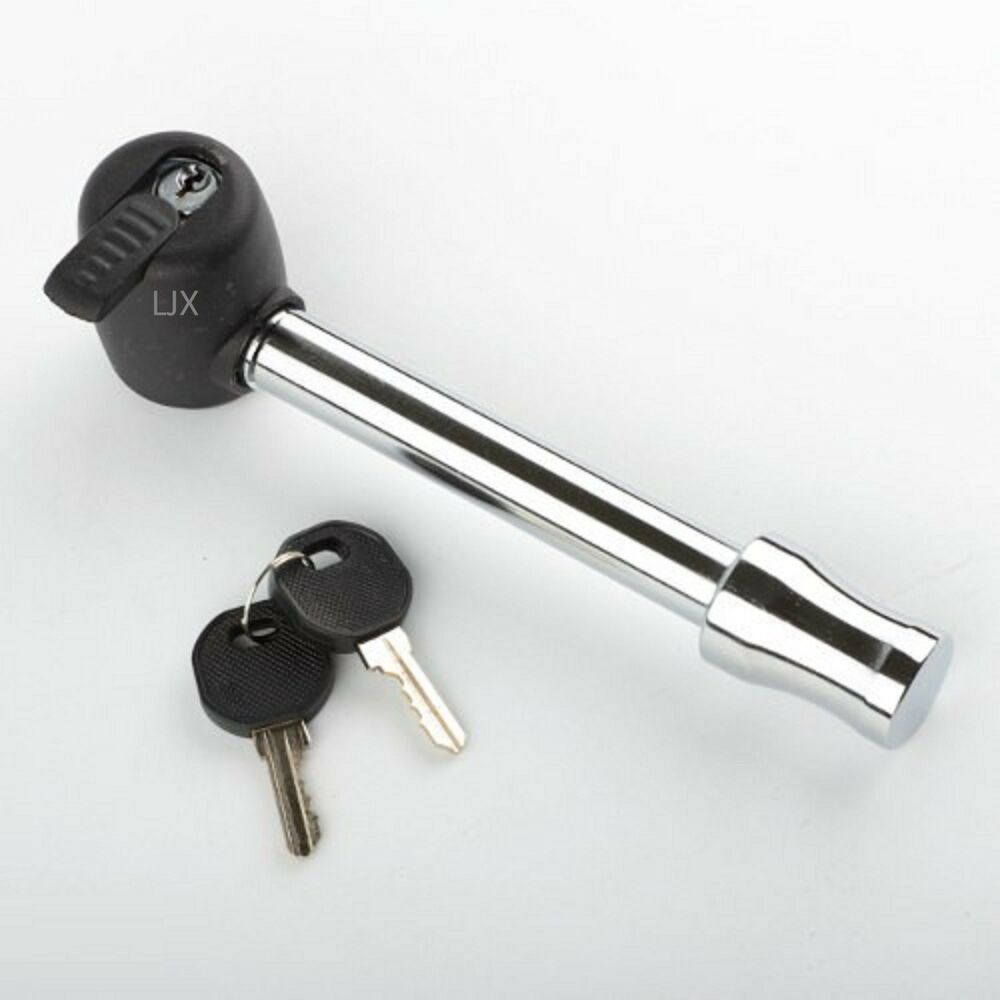 Boat Trailer Locking Pin : Quot locking hitch pin with keys and cover truck trailer