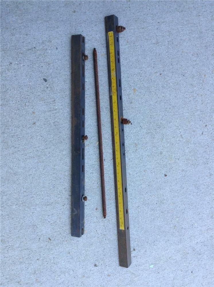 Craftsman table saw rails fits md 76 ebay for Craftsman picture rail