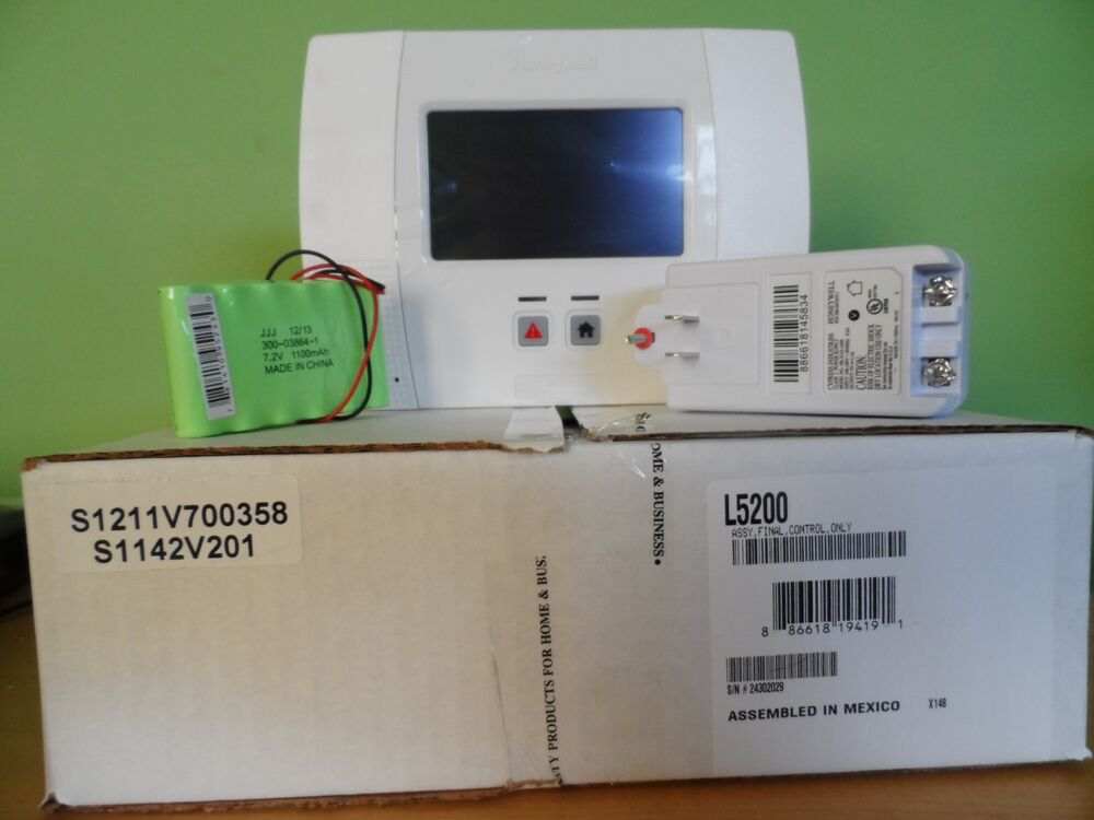 honeywell ademco lynx l5200 diy alarm system upgraded from
