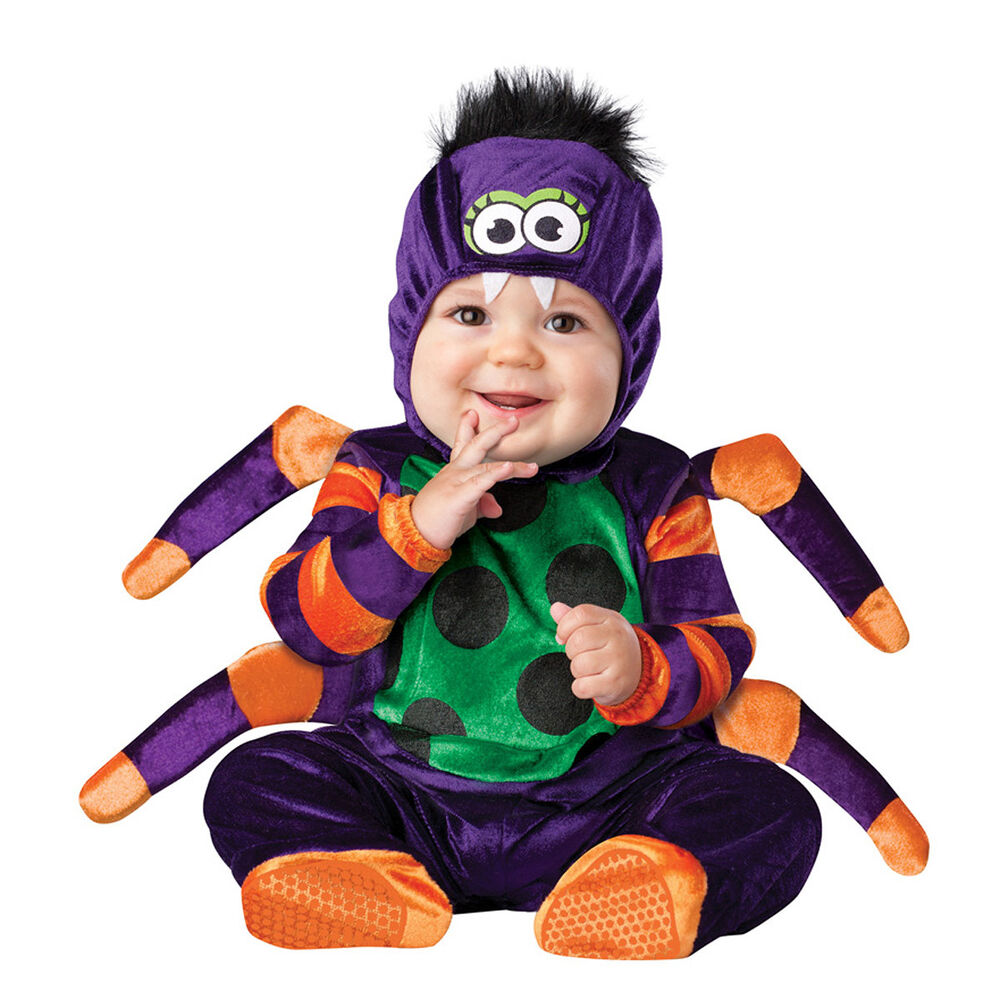 itsy bitsy spider baby infant newborn toddler cute halloween costume ebay. Black Bedroom Furniture Sets. Home Design Ideas