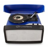 Crosley Collegiate Retro Vinyl Record Player Turntable - Blue