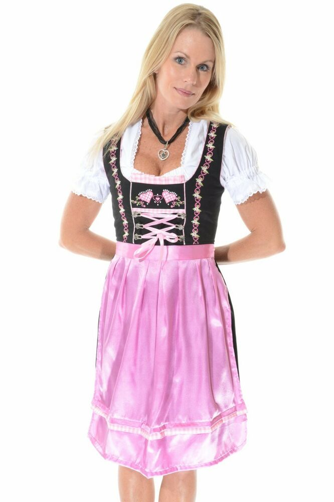 3pcs Authentic Oktoberfest Dirndl German Bavarian Dress ...