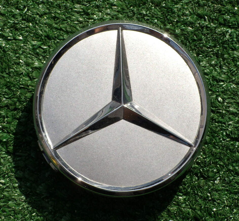 Brand new factory oem mercedes benz 3 in wheel center cap for Mercedes benz oem