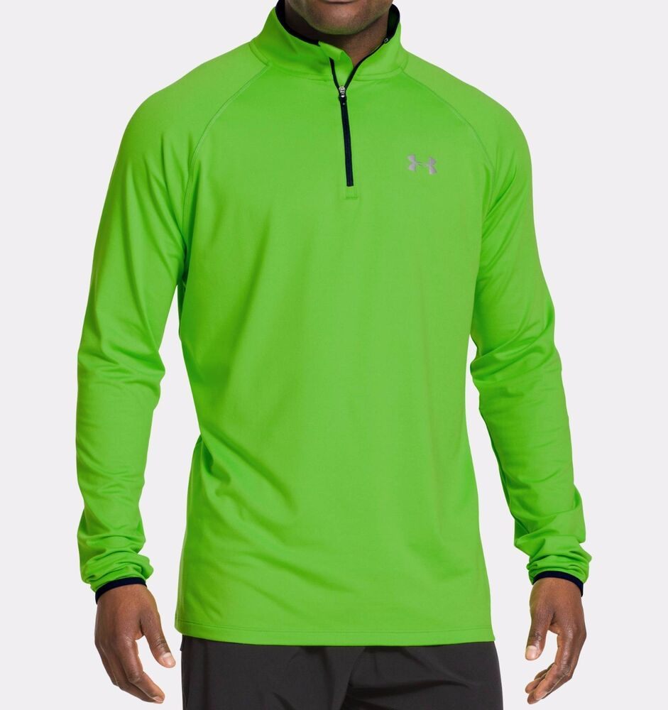 Under Armour Men 39 S Ua Heatgear Flyweight Run 1 4 Zip