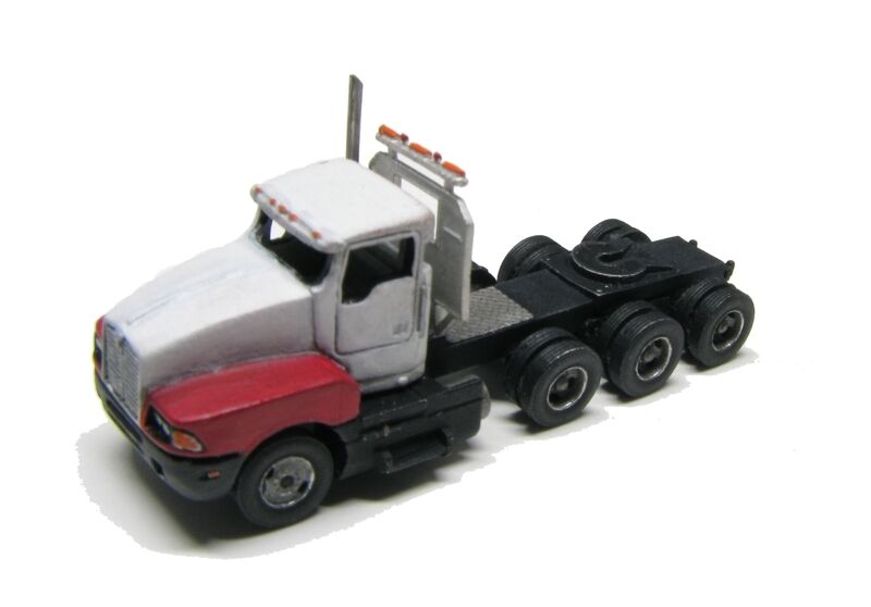 Athearn N Scale 3 Axle Tractor : N scale quot kw tri axle tractor kit for model railroad