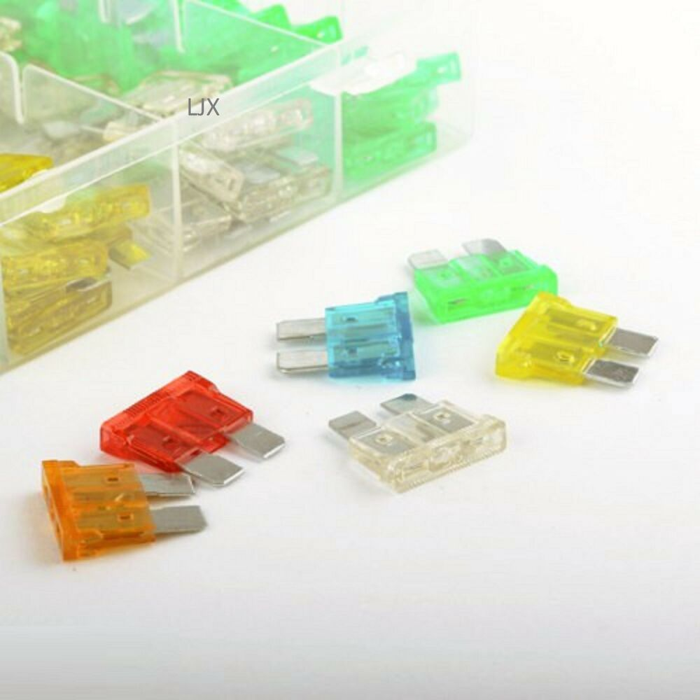 120 Pc Assorted Car Fuse Auto Trucks SUV's Replacement