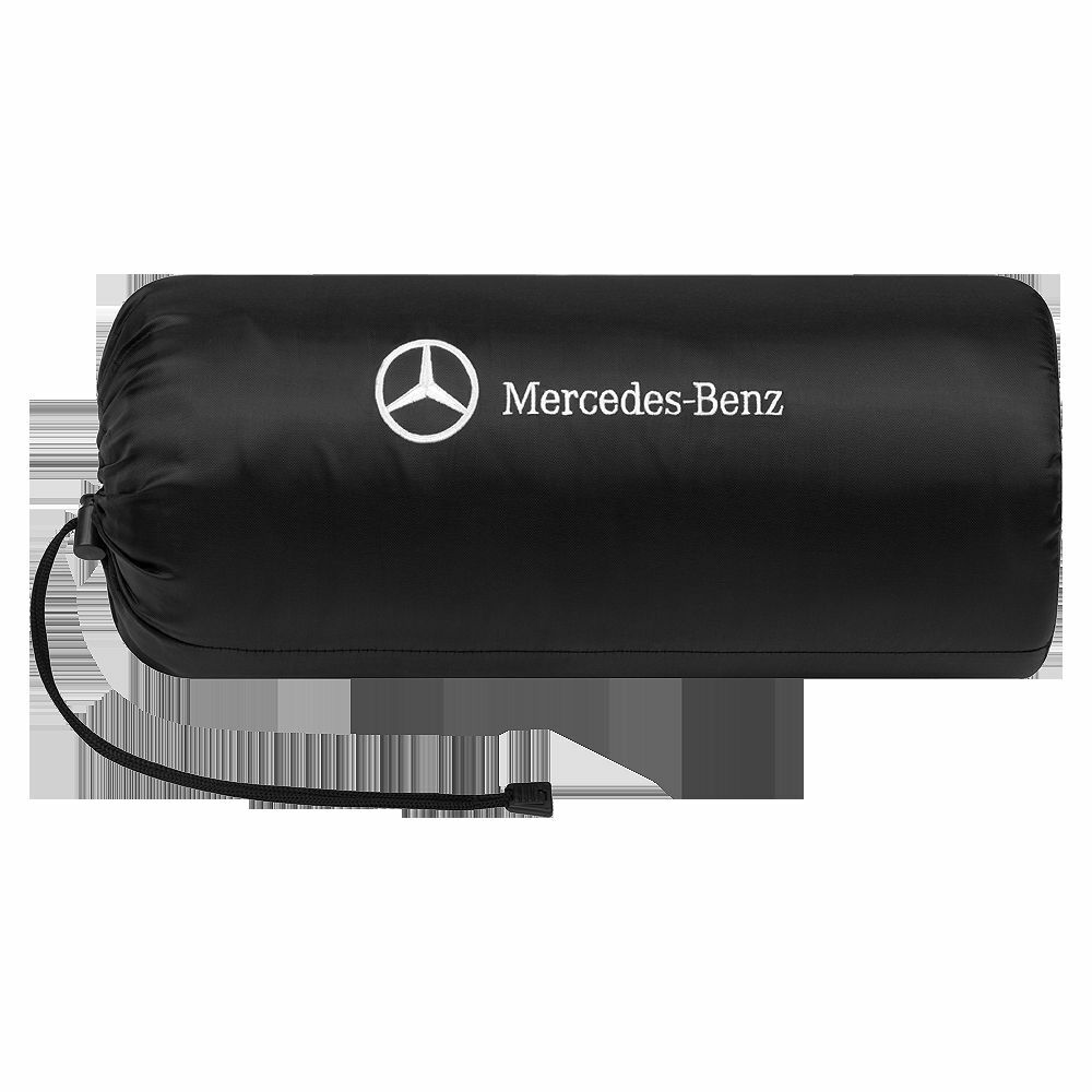 mercedes benz original fleece blanket 200x150cm black