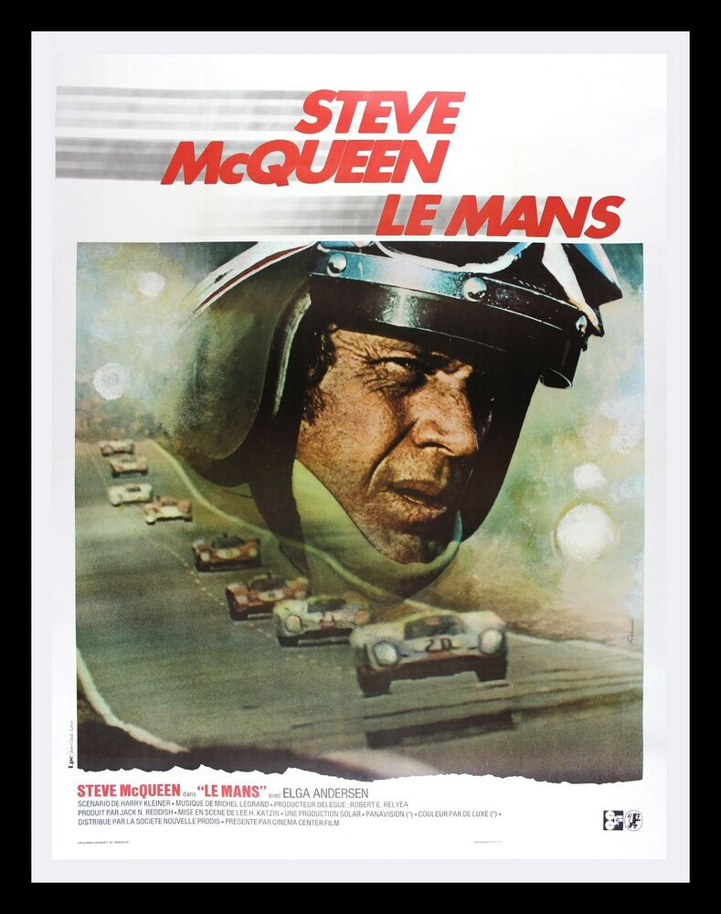Le mans cinemasterpieces lemans steve mcqueen auto for Garage automobile le mans