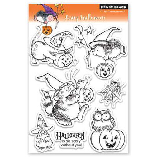 Penny Black Cat Stamps