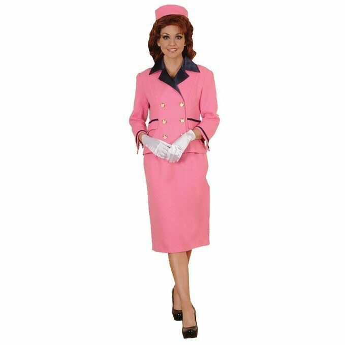 Deluxe Iconic First Lady Pink Suit Costume- Theatrical