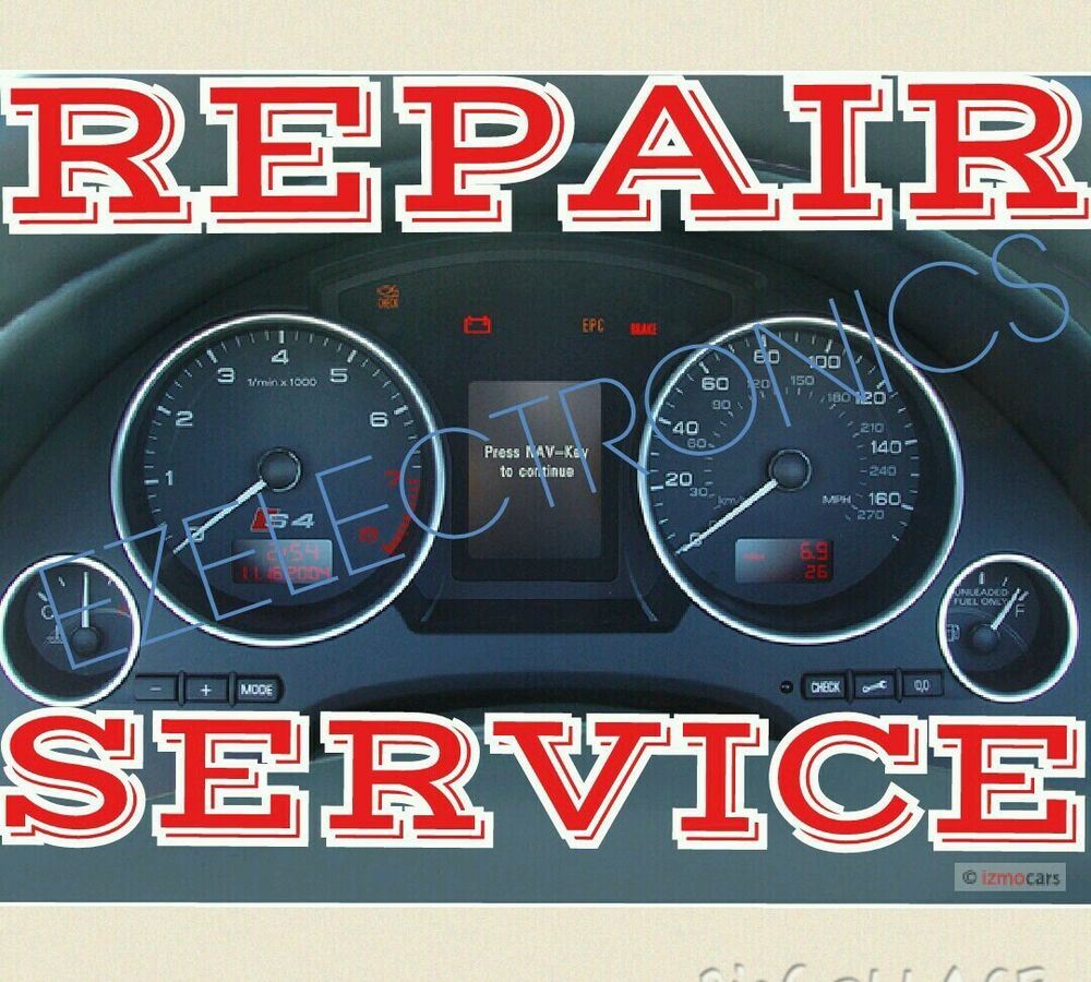 Audi Instrument Cluster Speaker Chime Replacement SERVICE