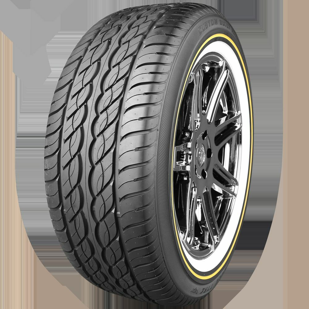 Wide 16 Inch Tires >> VOGUE TYRE SIZE 225 60 16!! TIRES 225/60R16 WHITE & GOLD!! SET OF FOUR!!   eBay