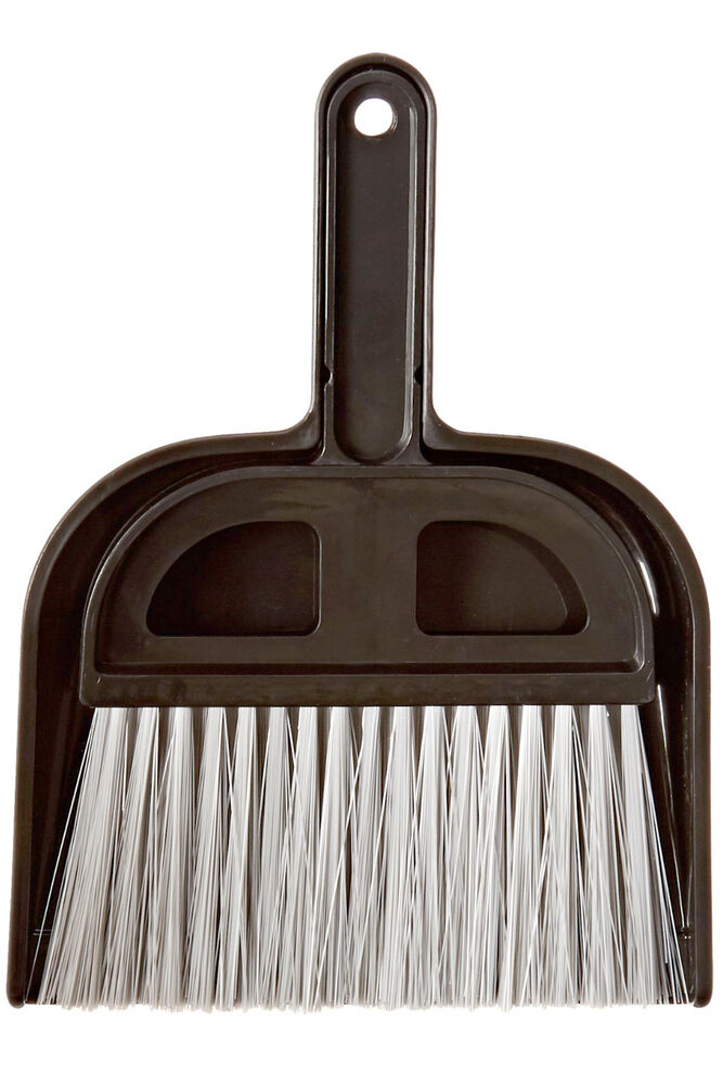 detailer 39 s choice 4b320 whisk broom and dust pan 5 wide for car small places ebay. Black Bedroom Furniture Sets. Home Design Ideas