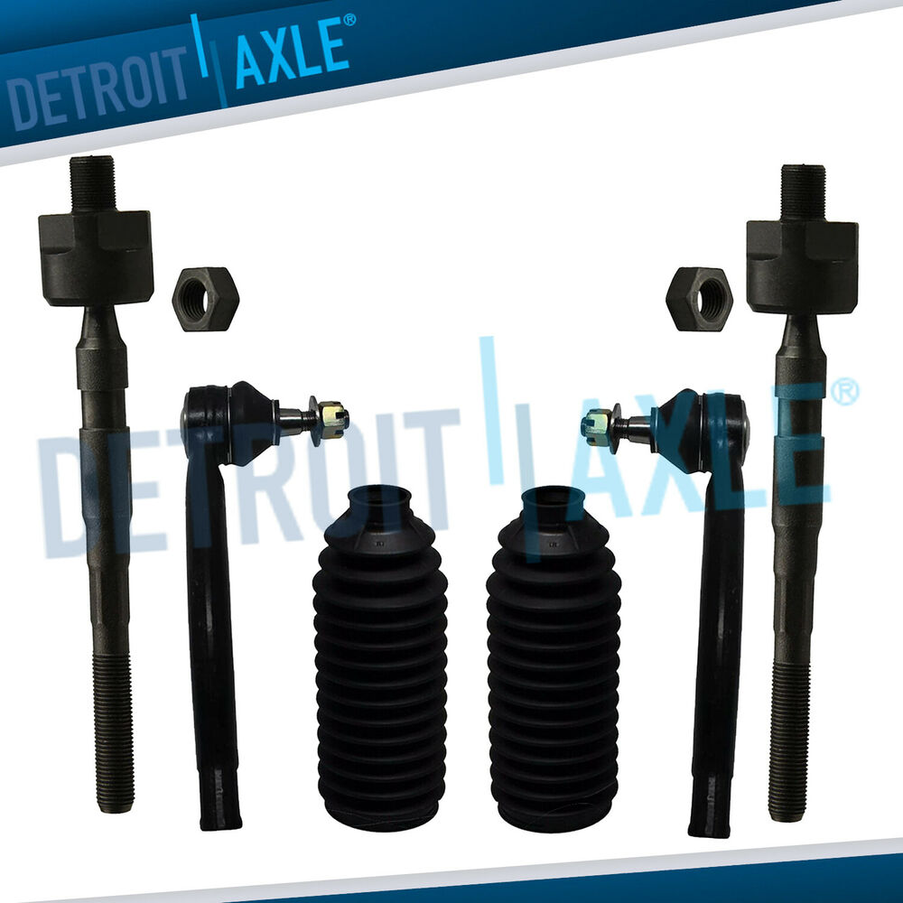 Brand New 6pc Front Suspension Tie Rod Amp Boot Kit For 2007 2012 Nissan Altima Ebay