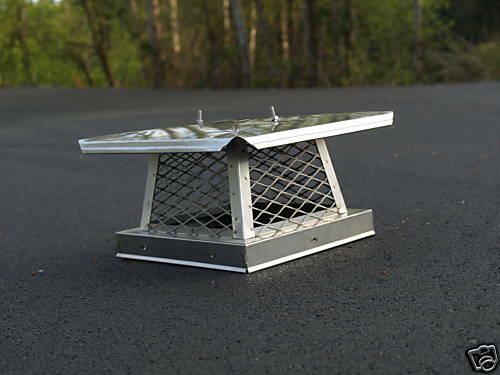 Stainless steel chimney cap ebay