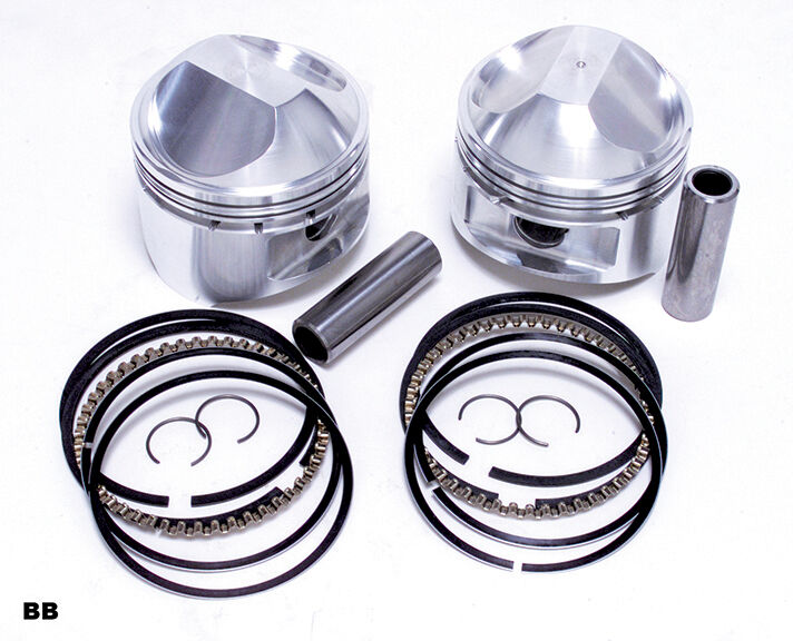 je piston kit 10 5 1 005 pr harley davidson 1978 84 shovelhead 80 89 ebay. Black Bedroom Furniture Sets. Home Design Ideas