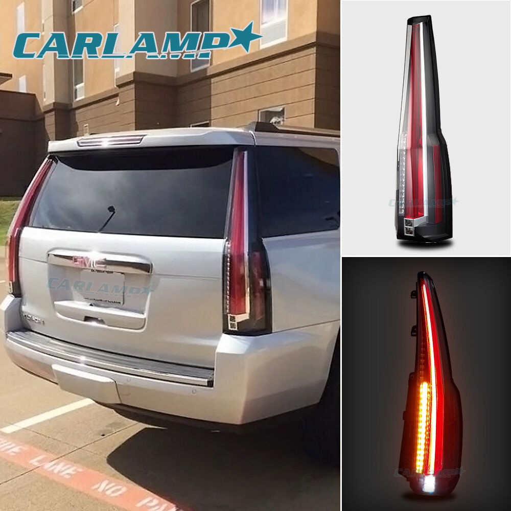 yukon tail lights led rear lamp brake cadillac escalade style ebay. Black Bedroom Furniture Sets. Home Design Ideas