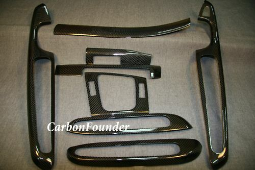 bmw e46 coupe m3 carbon fiber interior trim dash kit lhd 46 2cf ebay. Black Bedroom Furniture Sets. Home Design Ideas