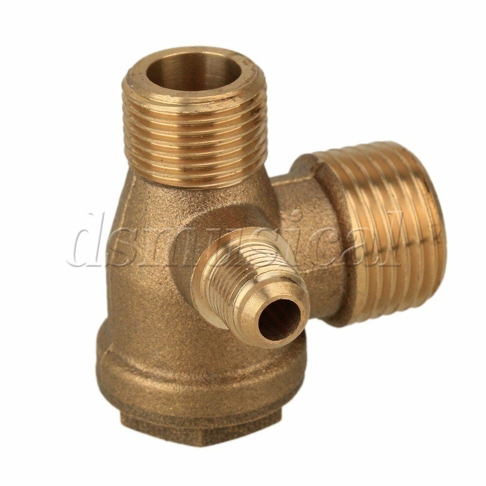 Brass male thread direct air compressor one way check