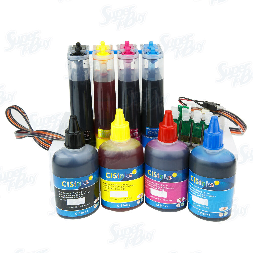 Continuous Ink System With Refill Ink Set R2 For Epson