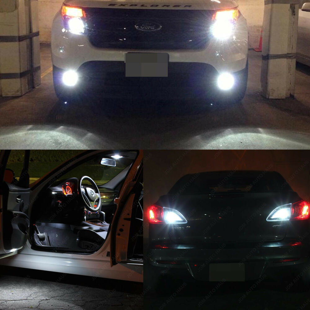 17x White Interior Exterior Led Lights Package Kit For 2011 2015 Ford Explorer Ebay