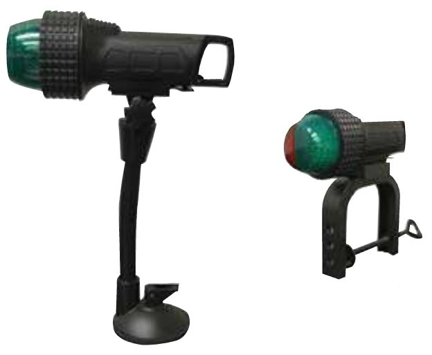 Battery Operated Portable Led Red And Green Bow Navigation