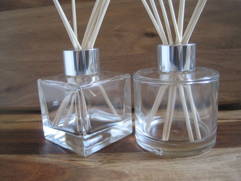 Aroma Diffuser Bottle ~ Square round glass reed diffuser bottle ml empty ebay