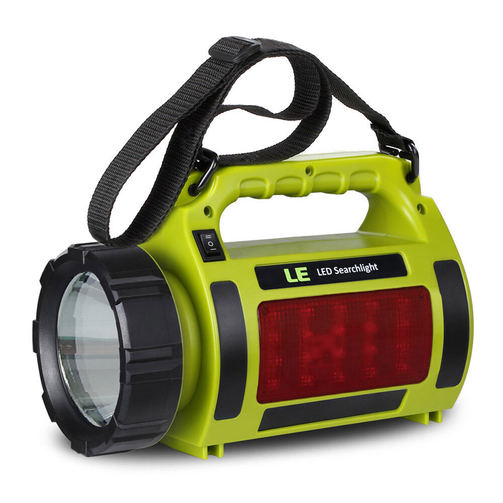 Stanley 5 Watt Led Rechargeable Spotlight: Rechargeable 10W CREE T6 LED Spotlight Flashlight Hand