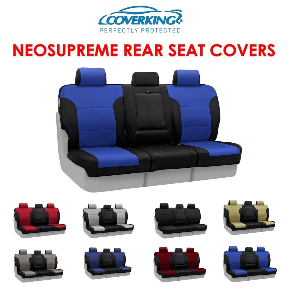 Coverking Neosupreme Rear Custom Fit Seat Covers For
