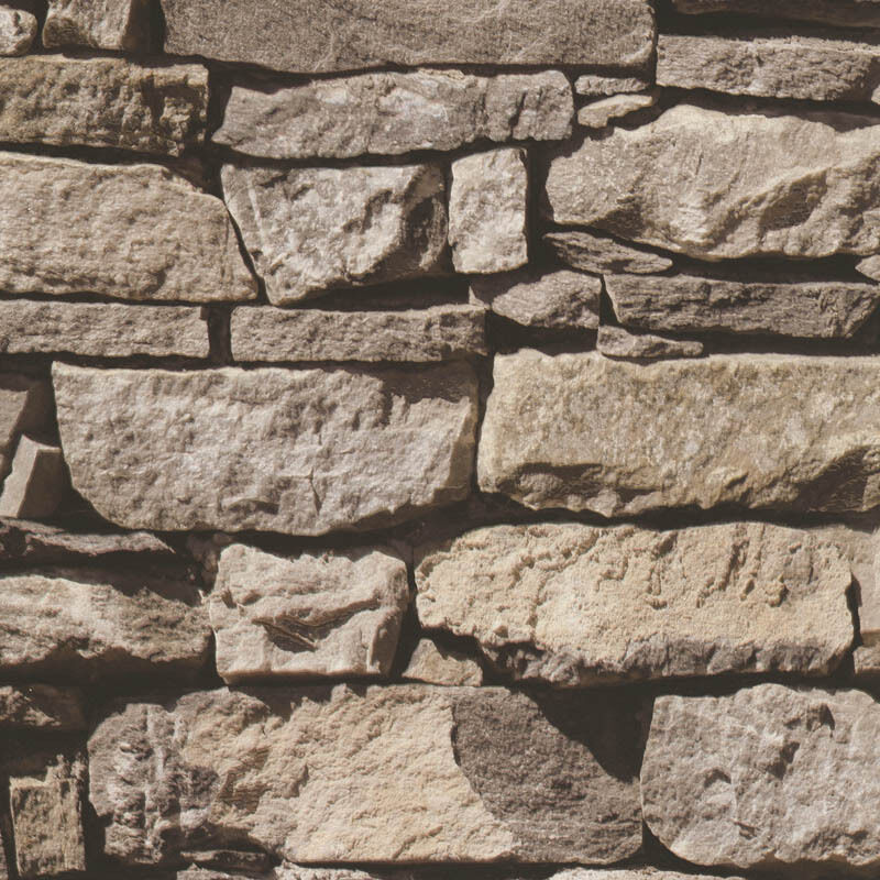 3d effect brown stones brick textured muriva feature for 3d effect wallpaper uk